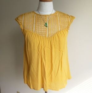 Bohemian H&M blouse size small